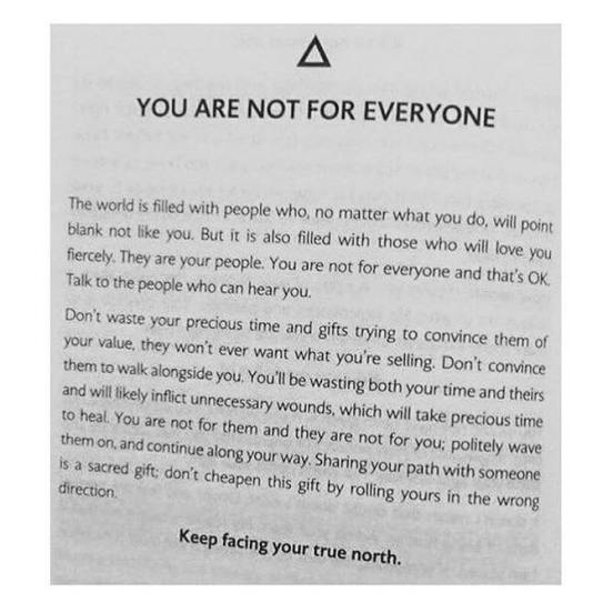 not for everyone